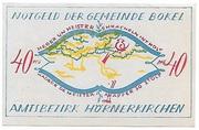 40 Pfennig (Bokel bei Pinneberg) – avers