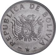 1 boliviano -  avers