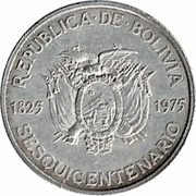 100 pesos Bolivianos (Indépendance) – avers