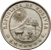 10 centavos (cupronickel) -  avers