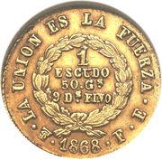 1 escudo – revers