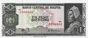 1 Peso Boliviano – avers
