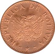 10 centavos (acier plaqué cuivre - type 1) -  avers