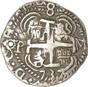 8 reales - Felipe V – avers