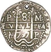 8 reales - Felipe V – revers