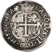 8 reales - Carlos II – avers