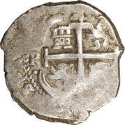 4 reales - Carlos II – avers