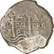 4 reales - Carlos II – revers