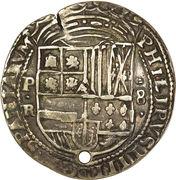 8 reales-  Felipe IV – avers
