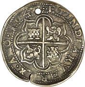 8 reales-  Felipe IV – revers
