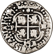 1 reales - Felipe IV – avers