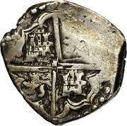 4 reales - Felipe III – revers