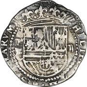 2 reales - Felipe II -  avers