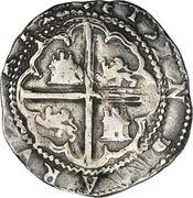 2 reales - Felipe II -  revers