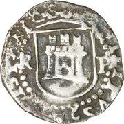 ¼ real - Felipe II – avers