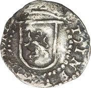 ¼ real - Felipe II – revers