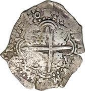 7½ reales - Felipe IV – revers