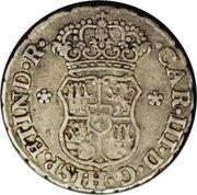 ½ real Carlos III – avers