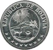 1 peso boliviano (FAO) – avers