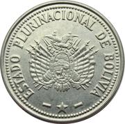1 boliviano (Estado Plurinacional de Bolivia) -  avers