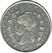 50 centimes - Chambre de Commerce - Bône – avers