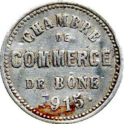 10 centimes (Bone chambre de  Commerce) – avers