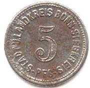 5 pfennig - Bonn-Siegkreis – avers