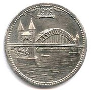 10 pfennig - Bonn-Siegkreis – revers