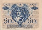 50 centimes - Chambre de Commerce de Bordeaux [33] – revers