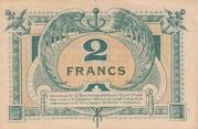 2 francs - Chambre de Commerce de Bordeaux [33] – revers