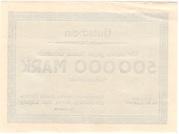 500,000 Mark (Borna; Braunkohlenwerke Borna) – revers