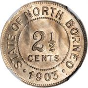 2,5 cents – revers