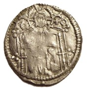 1 AR dinar Stjepan Kotromanic II (Banat Bosnia 1322-1353) – revers
