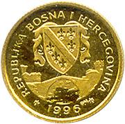 1/25 suverena (cheval Hanovrien) – avers