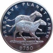750 Dinara (Eohippus) – avers