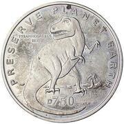 750 Dinara (Tyrannosaurus) – revers