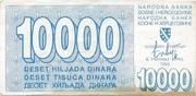 10,000 Dinara – avers
