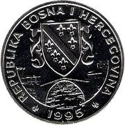 500 dinars (Cheval de Przewalskii ) – avers