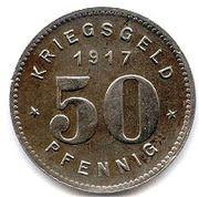 50 pfennig - Bottrop – revers