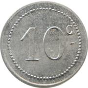 10 centimes (Bougie chambre de Commerce) -  avers