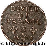 Double - Maurice de la Tour d'Auvergne – revers