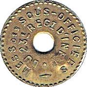5 centimes - 23° Régiment d'Infanterie - Bourg-en-Bresse (01) – avers
