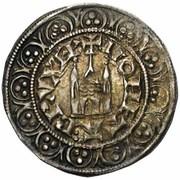 Gros au châtel brabançon - Jean II – avers