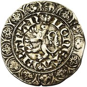 Gros compagnon au lion Jean III – revers