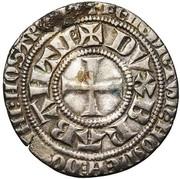 Gros a l'écu - Jean II – revers