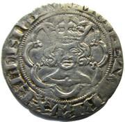 1/2 Groot - Jean III (1338) – avers