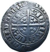 1/2 Groot - Jean III (1338) – revers