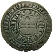 "1 Groot ""au Quadrilobe"" - Jean III (1344) – revers"