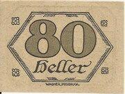 80 Heller (Brandenberg in Tirol) – revers