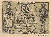 60 Heller (Brandenberg in Tirol) -  avers